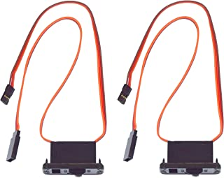 Apex RC Products JR Style Heavy Duty On/Off Switch W/ Charge Port - 2 Pack #1058
