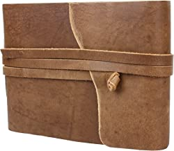 Rustic Town Leather Photo Album - Scrapbook Style Pages (Medium)