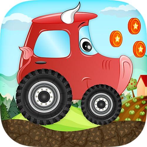 Juego de carreras de coches para los niños - Coches animales Beepzz...