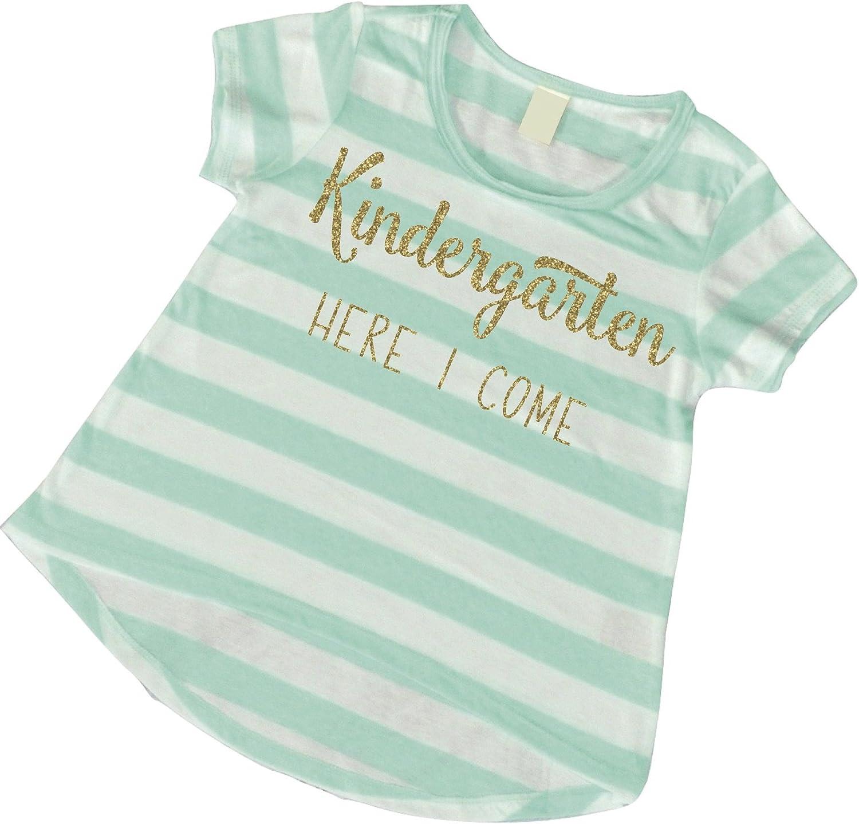 Bump and Beyond Designs 1st Day of Kindergarten Shirt Girls Kindergarten T-Shirt