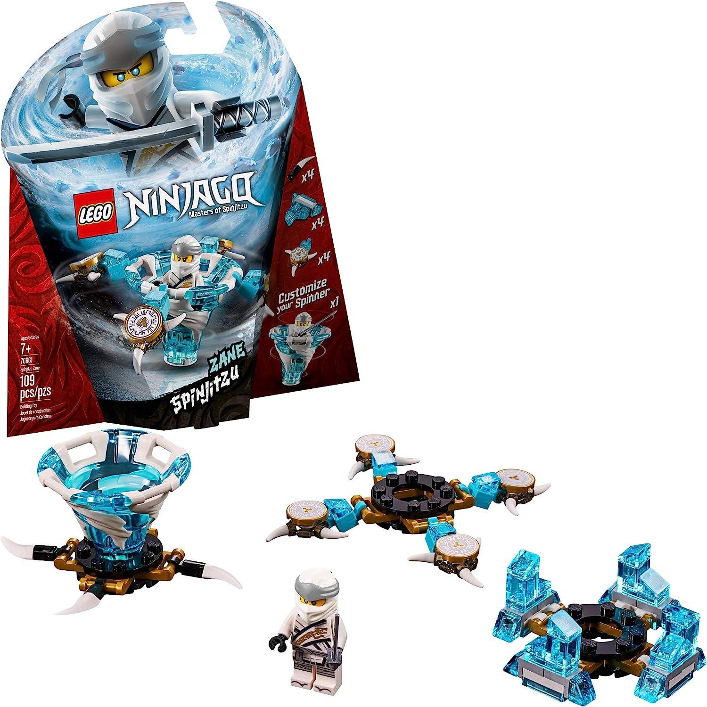 LEGO Ninjago - 70661 Spinjitzu Zane Spinner (109 Teile): Amazon.de:  Spielzeug