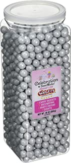 Celebrations By SweetWorks Sixlets(R) 30oz, Shimmer (TM) Silver