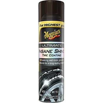 MEGUIAR'S G190315 Ultimate Insane Shine Tire Coating, 15 oz