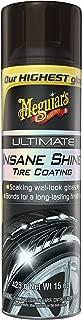 MEGUIAR'S G190315 Ultimate Insane Shine Tire Coating, 15 oz