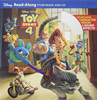 Toy Story 4 Read-Along Storybook and CD
