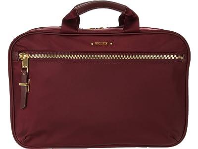 Tumi Voyageur Madina Cosmetic (Cordovan) Handbags