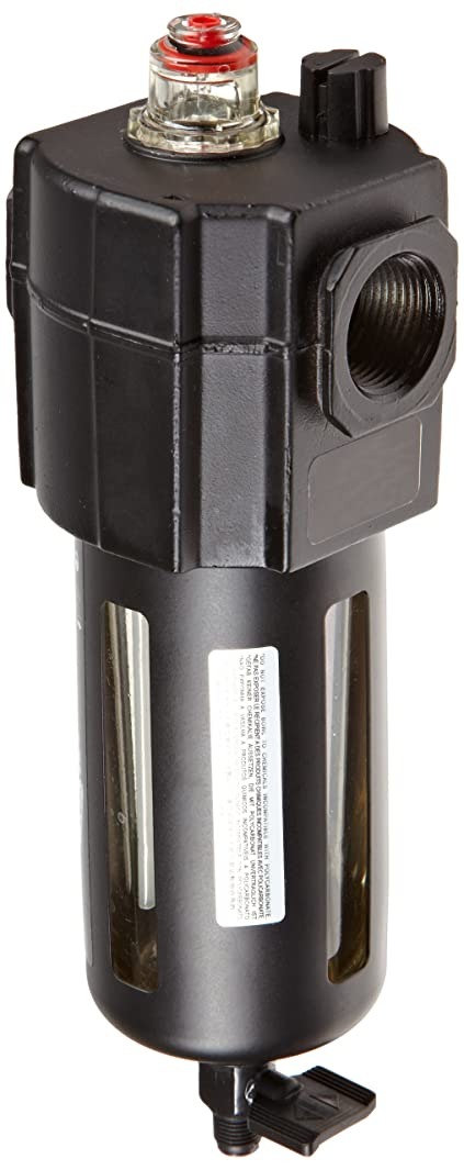 Dixon L74M-6 Norgren Series Micro-Fog Lubricator with Transparent Bowl and Guard, 1/2