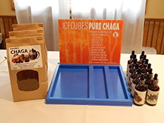 Wholesale ~ Icecube Herbals Chaga & Tincture Starter Kit ~ Counter Top Display ~ Free Ship ~ Business Start-Up ~ Wellness ~