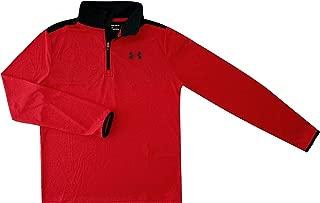 Under Armour Velocity 1/4 Zip Big Boys 8-18 Athletic Shirt UPF 30 Anti Odor Top