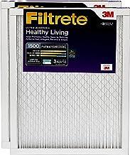 Filtrete 20x25x1, AC Furnace Air Filter, MPR 1500, Healthy Living Ultra Allergen, 2-Pack