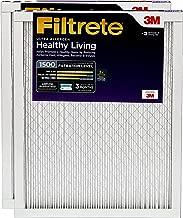 Filtrete 18x24x1, AC Furnace Air Filter, MPR 1500, Healthy Living Ultra Allergen, 2-Pack