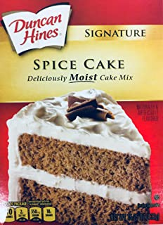Duncan Hines Signature Spice Cake Mix 15.25 oz (pack of 2)