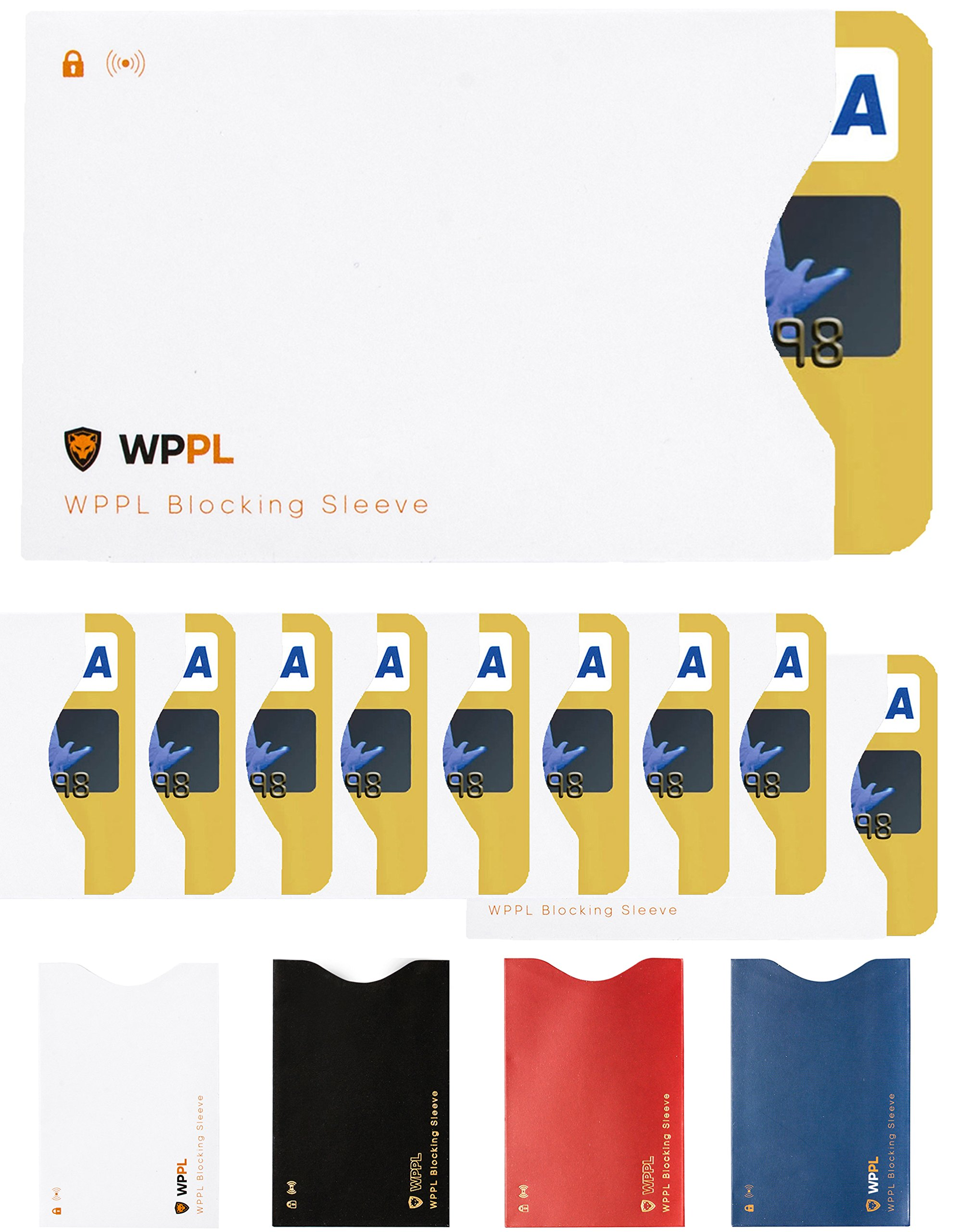 RFID Sleeves Credit Card Sleeve