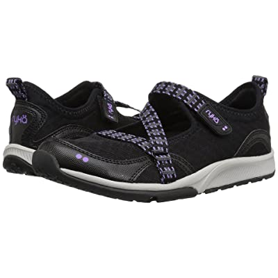 Ryka Kailee (Black/Purple Ice/Summer Grey) Women