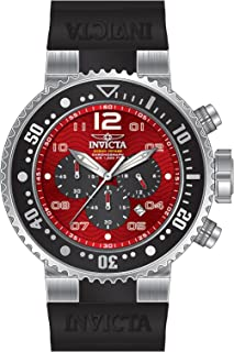 Best invicta pro diver red dial Reviews