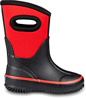 All-Weather Toddler Rain Boots, Kids Snow Boots for Girls and Boys
