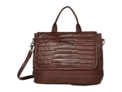 Day & Mood Brenna Top-Handle (Chocolate) Handbags