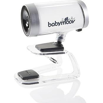 Babymoov Video-Babyphone Babycamera 0% Emission - strahlungsfrei im Kinderzimmer, unbegrenzte Reichweite, Steuerung über Smartphone/ Tablet-App