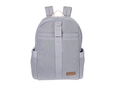 adidas VFA II Backpack (Glory Grey/Haze Coral/Rose Gold) Backpack Bags