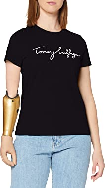 Tommy Hilfiger Heritage Crew Neck Graphic Tee T-Shirt Femme