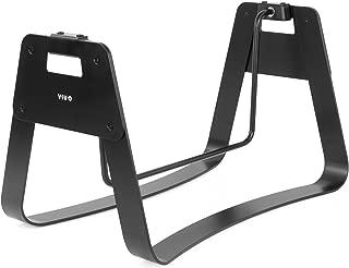 VIVO Black Ergonomic Steel Fidget Bar | Standing, Sitting, Rocking, Swinging, Relief Foot Rest (STAND-FT02R)