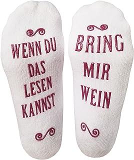 Luxuriöse Lustige Socken Aus Gekämmter Baumwolle Mit Der Aufschrift Bring Mir Wein Gastgeber, Einweihungsfeiern, Geburtstage, Muttertag Oder Für Weinliebhaber