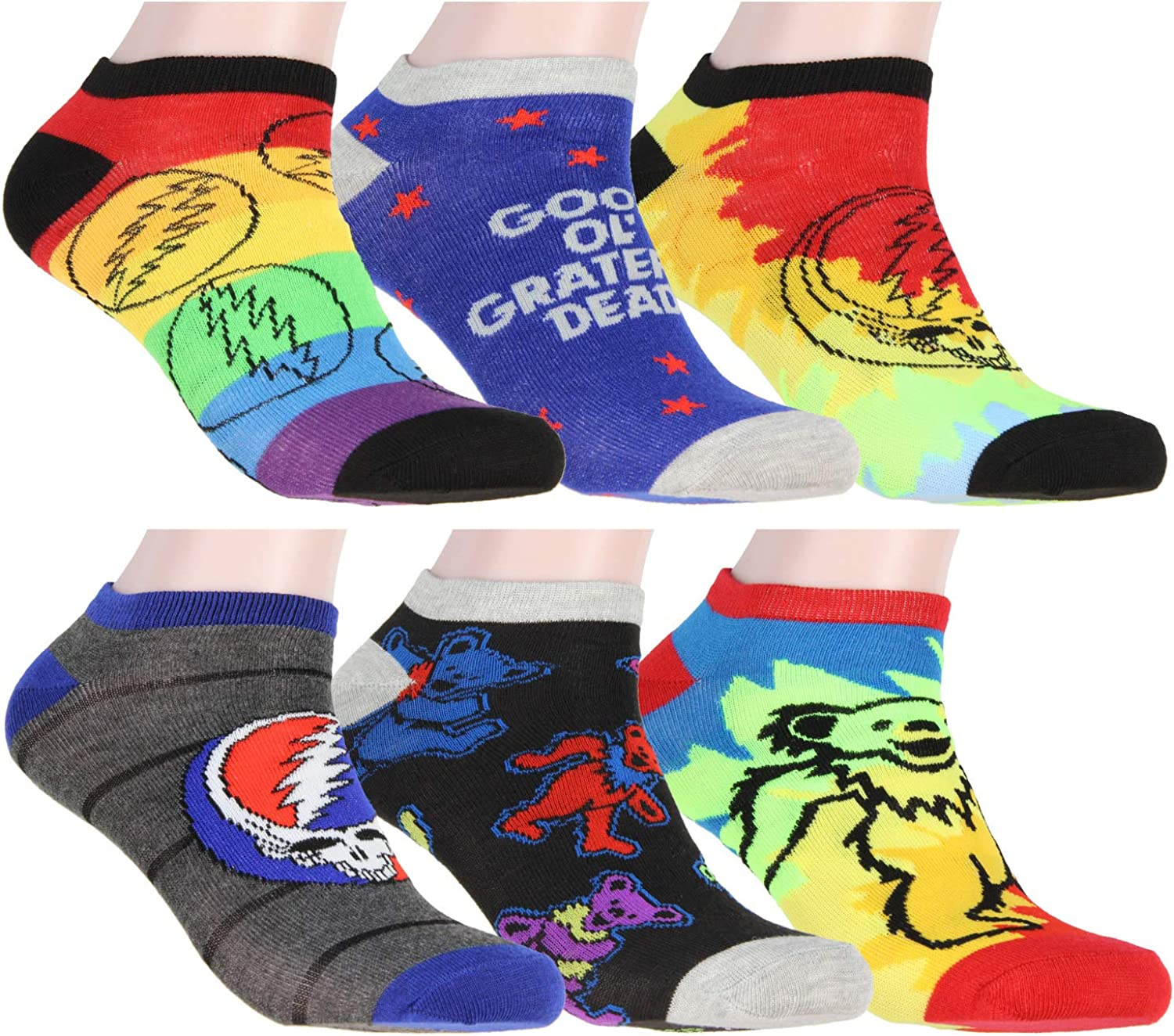 Grateful Dead Socks Adult Tie Max 44% OFF Spasm price Dye Dancing Your Bears Steal F And