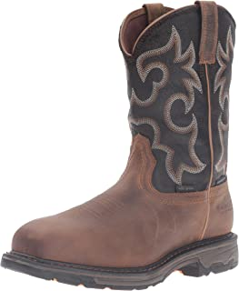 Ariat Men's Workhog H2O 400g Composite Toe Work Boot, Rye Brown/Coffee, 10 2E US