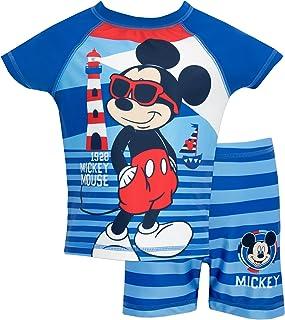 Disney Bañador de Dos Piezas para niño Mickey Mouse