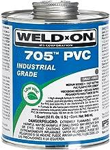Weldon 705 10101 Industrial Grade Plumbing Cement Medium-Bodied Very Fast-Setting, 1/4 Pint, Gray