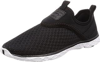 Aleader 4562320452069 Men's Marine Sports Sandals Jogging Shoes Amphibious Ventilation Black 275, one size