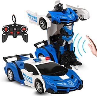 alles GmbH 2 in 1 Transformer Auto Fahrzeug Figur