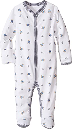 Printed Interlock Bear Coveralls (Infant)