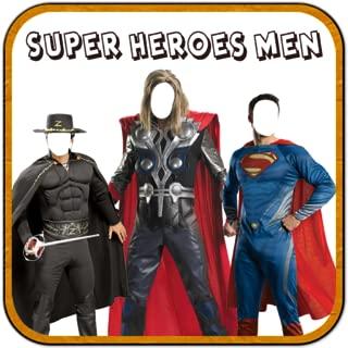 Superhero Man Photo Suit