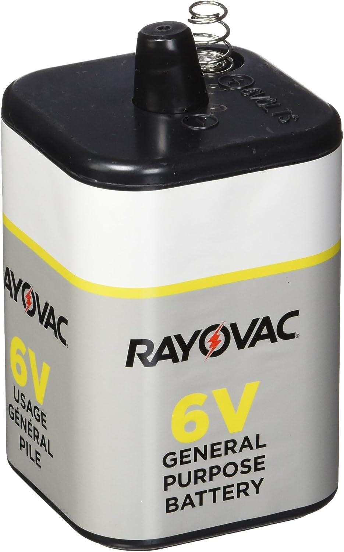 Rayovac 6V General Purpose Lantern Battery, 1.195 Pound : Health & Household