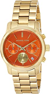 Michael Kors Women's Quartz Watch, Analog Display and Stainless Steel Strap MK6162