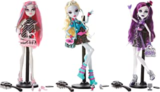 Monster High Ghouls Night Out Doll Set (Rochelle Goyle, Lagoona Blue & Spectra Vondergeist)