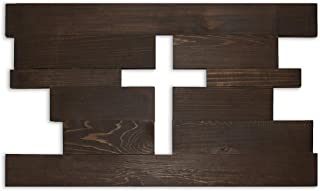wooden wall crosses