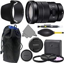 Sony E 18-105mm f4 SELP18105G: Sony E PZ 18-105mm f/4 G OSS Lens + AOM Pro Kit Combo Bundle - International Version (1 Year AOM Warranty)