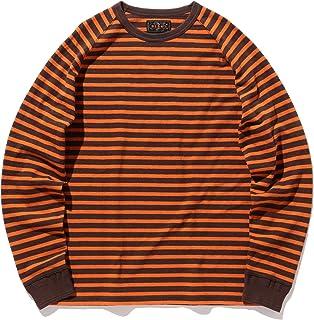 (ビームス プラス)BEAMS PLUS/ラグラン ボーダークルーネック Tシャツ