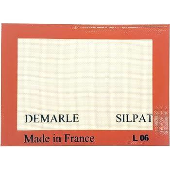 "Silpat Premium Non-Stick Silicone Baking Mat, Toaster Oven Size, 7-7/8"" x 10-7/8"""