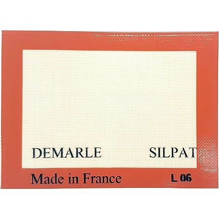 Silpat Premium Non-Stick Silicone Baking Mat, Toaster Oven Size, 7-7/8 x 10-7/8, Tan