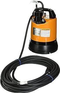 Tsurumi LSR2.4S-60 Low-Level Submersible Dewatering Pump, 2/3 HP