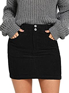 Best black cord skirt size 10 Reviews