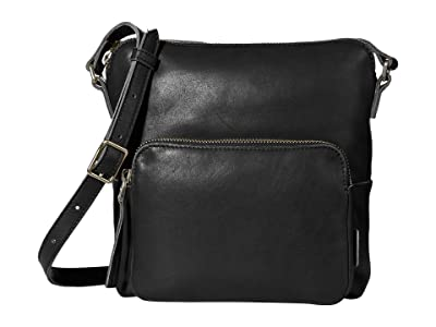 ECCO Casper Crossbody (Black) Cross Body Handbags