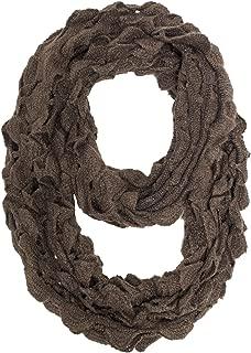 StylesILove Women Chic Ruffle Knit Infinity Loop Scarf Winter Neck Warmer