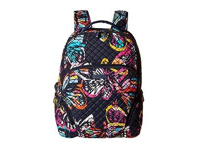 Vera Bradley Iconic Backpack (Butterfly Flutter) Backpack Bags