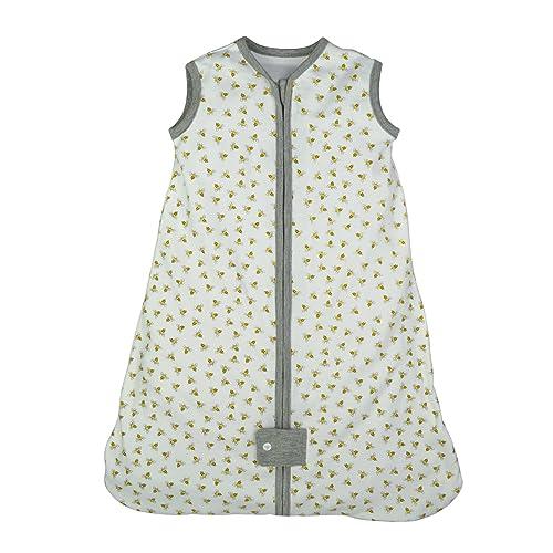 Burt's Bees Baby - Beekeeper Wearable Blanket, 100% Organic Cotton, Swaddle Transition Sleeping Bag
