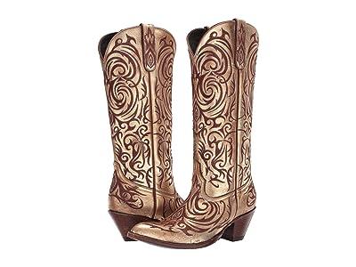 Old Gringo Madona (Gold) Cowboy Boots