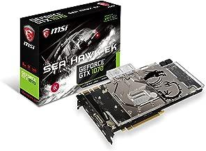 MSI NVIDIA GeForce GTX 1070 SEA HAWK EK X 8GB GDDR5 DVI/HDMI/3DisplayPort PCI-Express Video Card